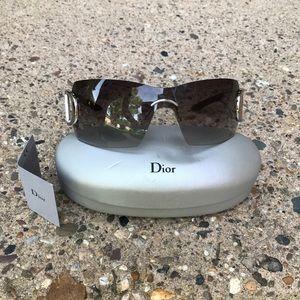 "Christian Dior ""Diorly 2S"" Shield Sunglasses"